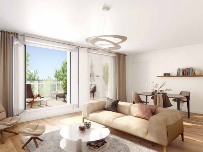 Appartements neufs Ambarès-et-Lagrave référence 5432 : aperçu n°1