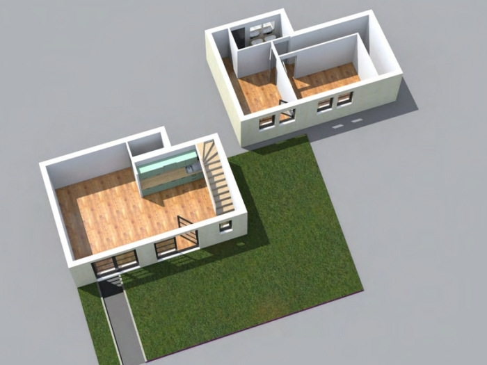 Appartements neufs Arcachon référence 3811 : aperçu n°1