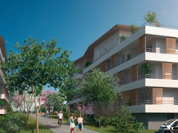 Appartements neufs Bassens référence 5420 : aperçu n°4