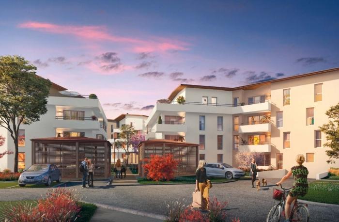 Appartements neufs Bassens référence 5373 : aperçu n°2