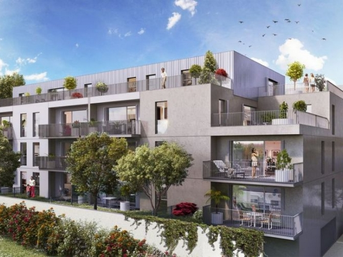 Appartements neufs Caudéran référence 5386 : aperçu n°0