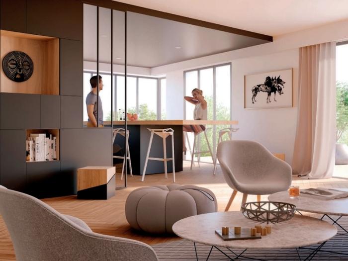 Appartements neufs Caudéran référence 4066 : aperçu n°2
