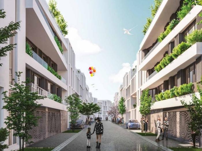 Appartements neufs Les Chartrons référence 5371 : aperçu n°3