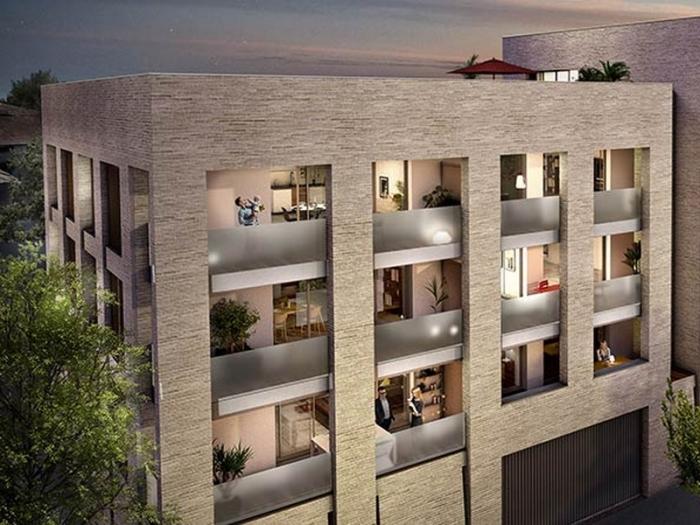 Appartements neufs Les Chartrons référence 5430 : aperçu n°2