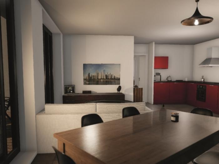 Appartements neufs Bastide référence 5385 : aperçu n°1