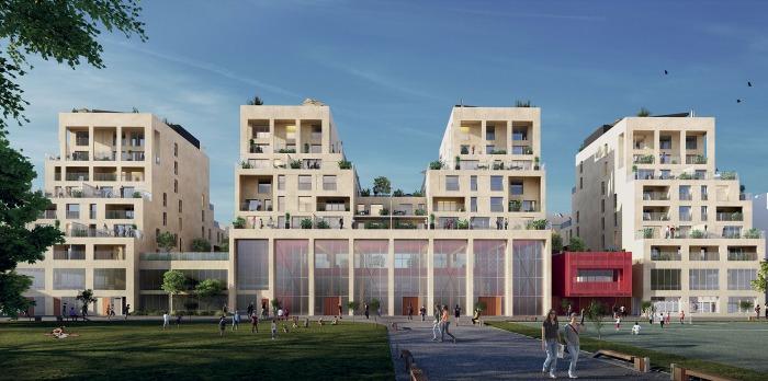Appartements neufs Bastide référence 4102 : aperçu n°0
