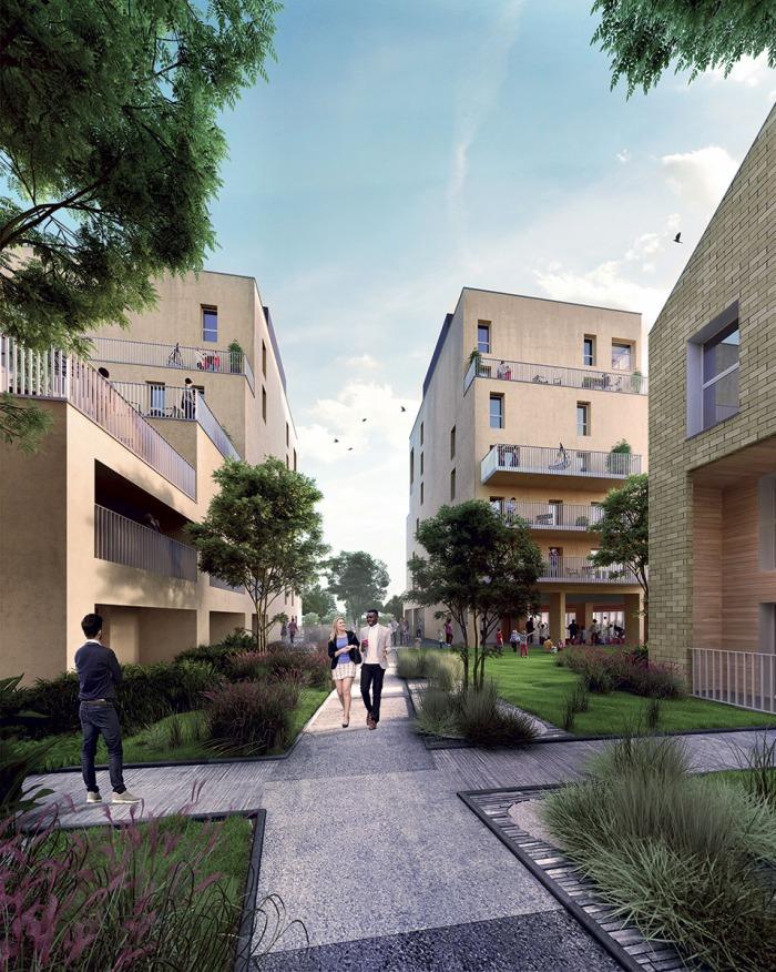 Appartements neufs Bastide référence 4102 : aperçu n°3