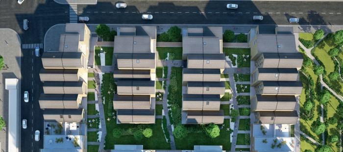 Appartements neufs Bastide référence 4102 : aperçu n°4