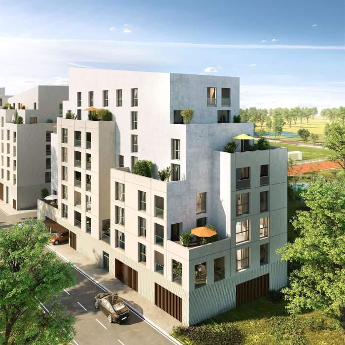 Appartements neufs Bastide référence 3787 : aperçu n°2