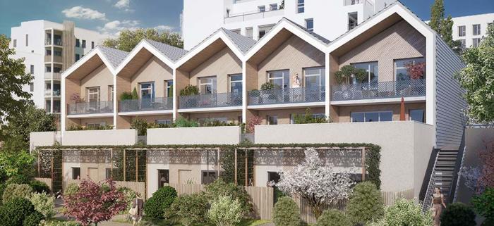 Appartements neufs Lac référence 5318 : aperçu n°0