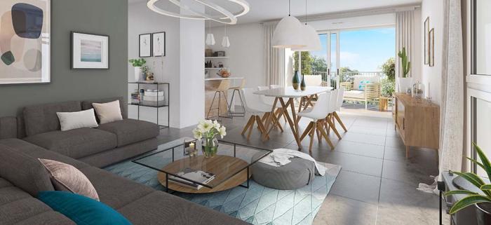 Appartements neufs Lac référence 5318 : aperçu n°2
