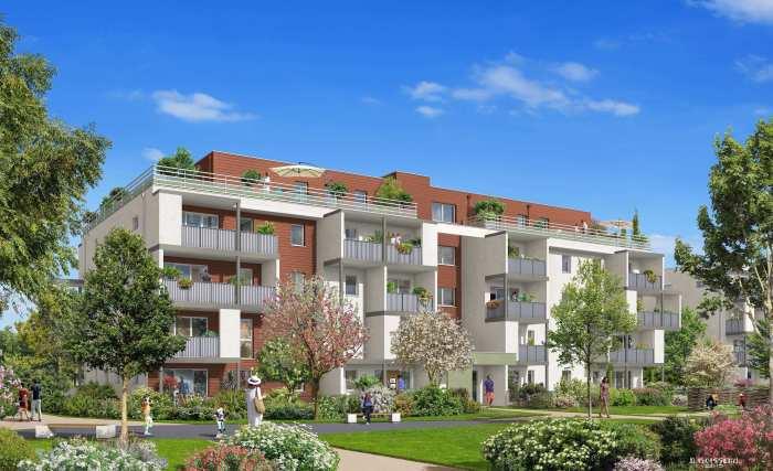 Appartements neufs Bruges référence 5311 : aperçu n°3