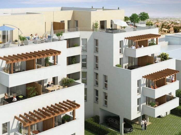 Appartements neufs Cenon référence 5431 : aperçu n°2