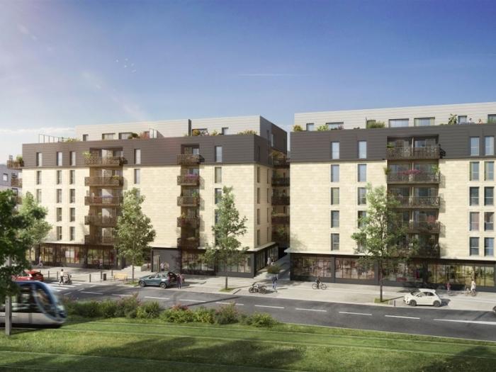 Appartements neufs Cenon référence 4096 : aperçu n°2