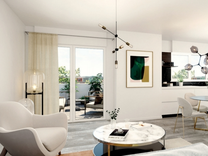 Appartements neufs Gradignan référence 4100 : aperçu n°1
