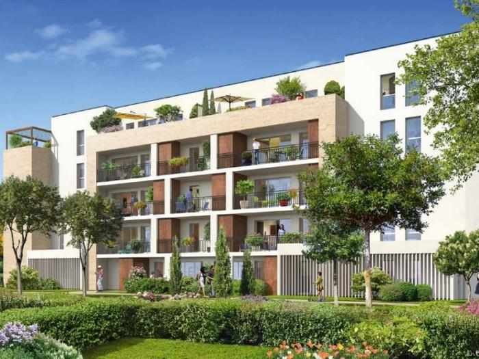 Appartements neufs Le Bouscat référence 5394 : aperçu n°0