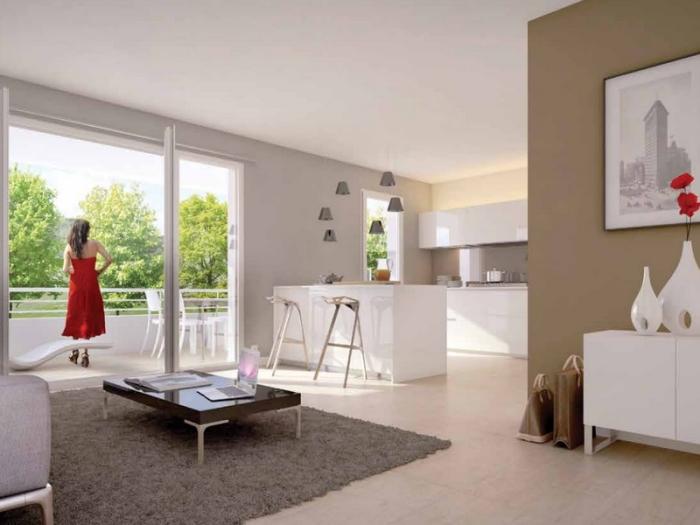 Appartements neufs Le Bouscat référence 5394 : aperçu n°1