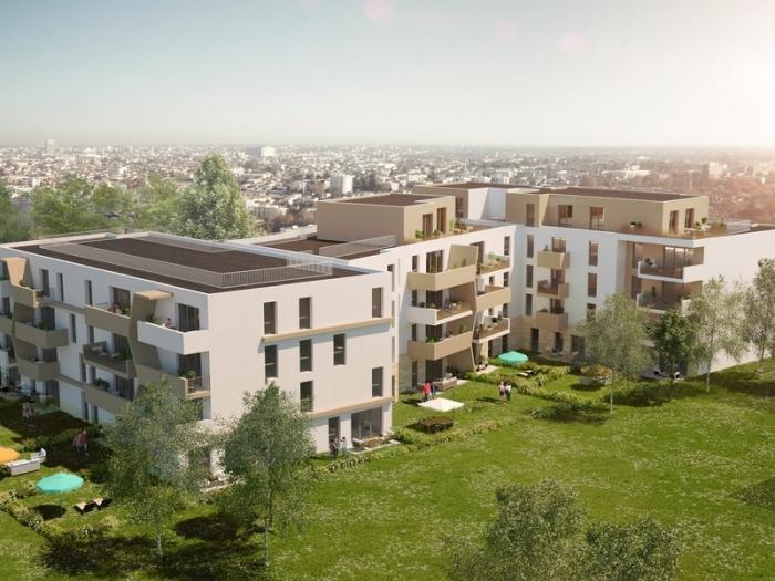 Appartements neufs Le Bouscat référence 4092 : aperçu n°0