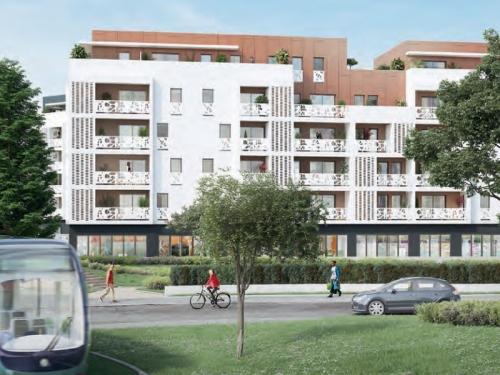 Appartements neufs Lormont référence 5234