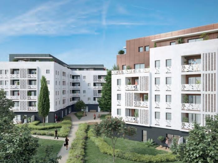 Appartements neufs Lormont référence 5234 : aperçu n°3