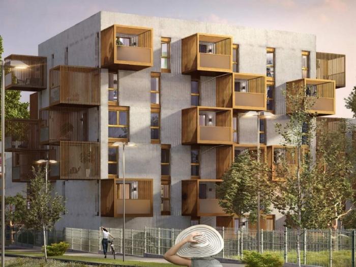 Appartements neufs Lormont référence 5415 : aperçu n°2