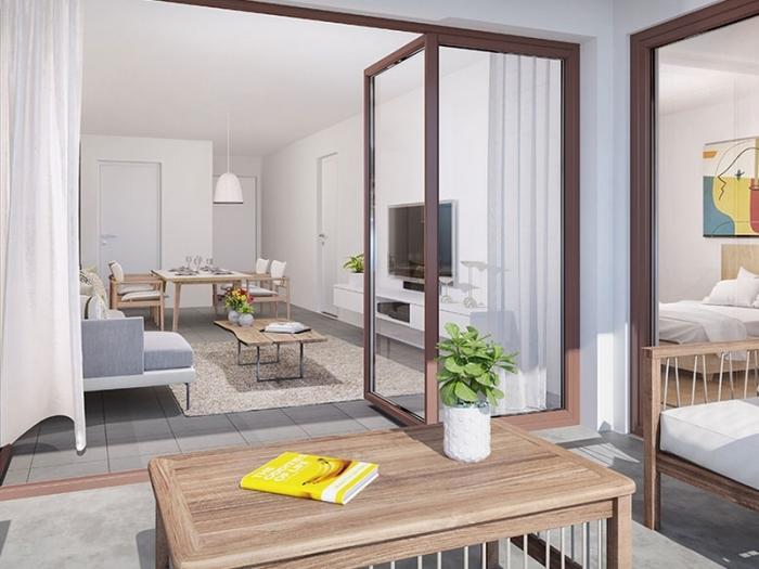 Appartements neufs Lormont référence 5388 : aperçu n°1