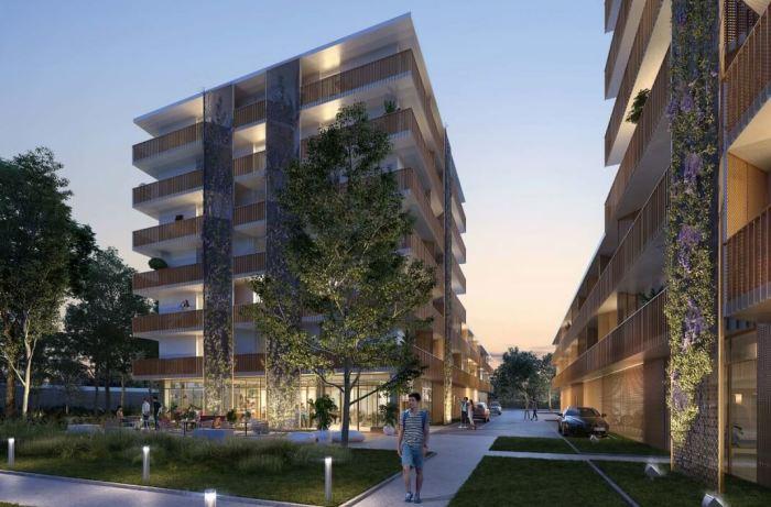 Appartements neufs Lormont référence 3855 : aperçu n°3