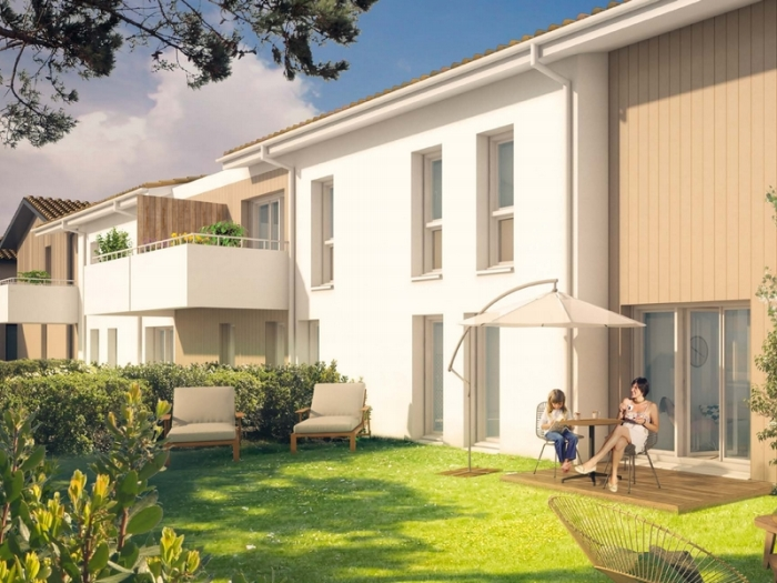 Appartements neufs Parempuyre référence 5801 : aperçu n°3