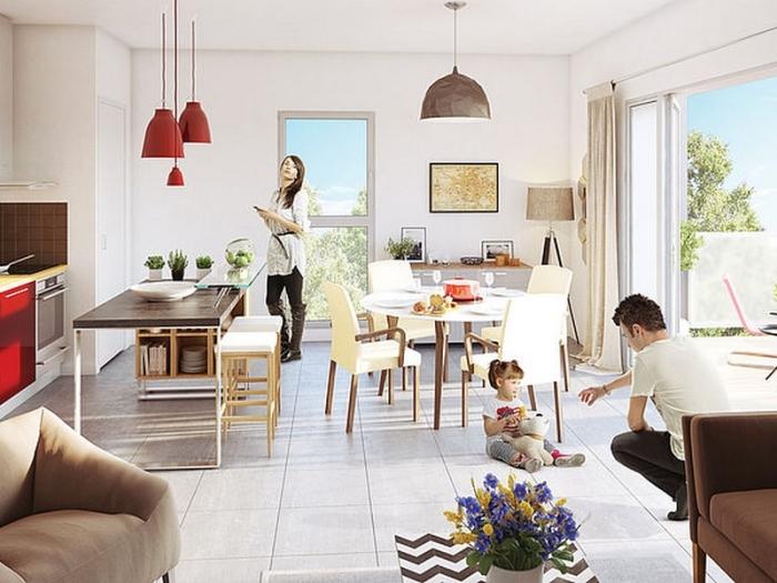 Appartements neufs Parempuyre référence 5374 : aperçu n°1
