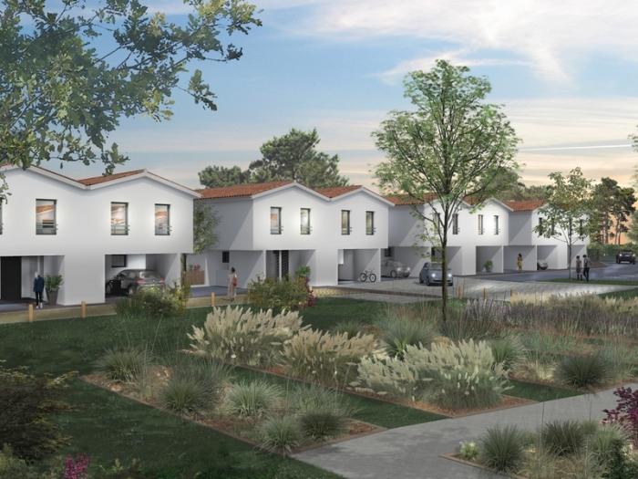 Maisons neuves et appartements neufs Saint-Médard-en-Jalles référence 5391 : aperçu n°3