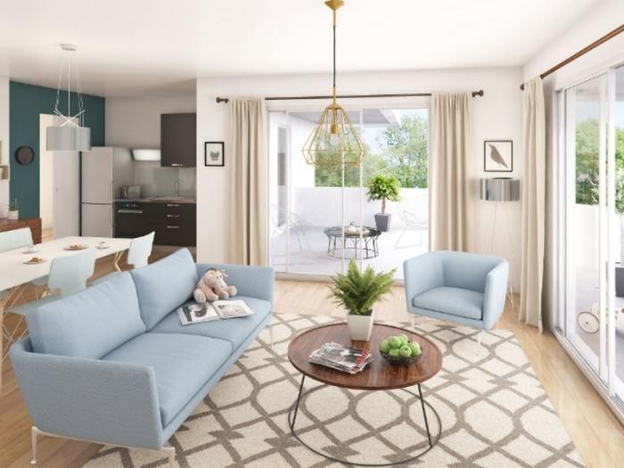 Appartements neufs Villenave-d'Ornon référence 4106 : aperçu n°1