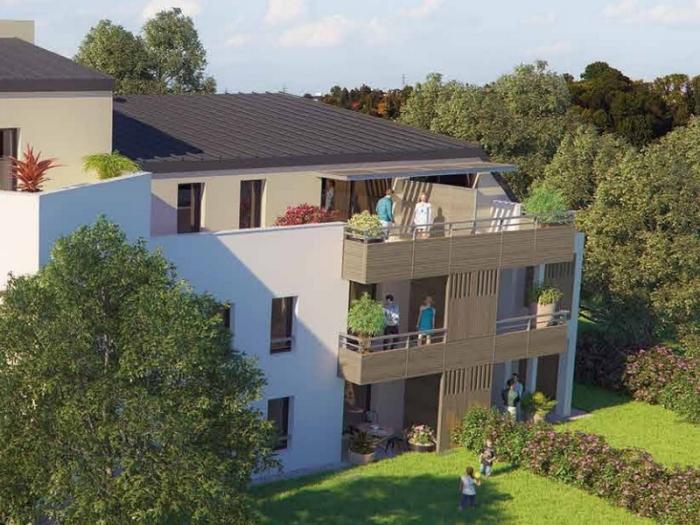 Appartements neufs Bayonne référence 5653 : aperçu n°1
