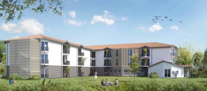 Appartements neufs et résidences étudiantes Pessac référence 3907 : aperçu n°0