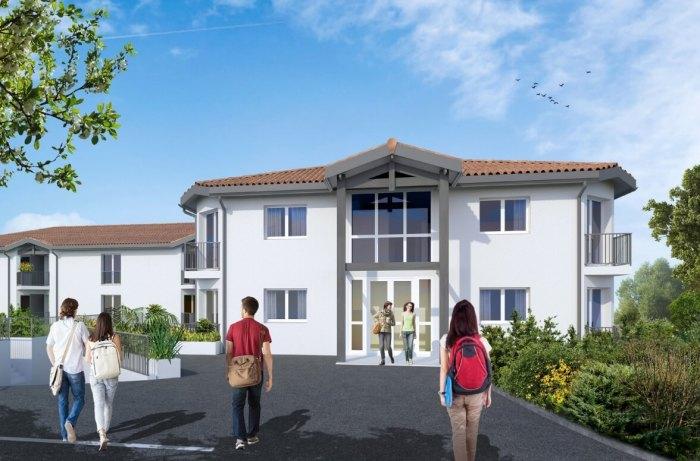 Appartements neufs et résidences étudiantes Pessac référence 3907 : aperçu n°2