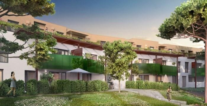 Appartements neufs Bruges référence 4141 : aperçu n°0