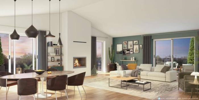Appartements neufs Le Bouscat référence 4180 : aperçu n°1