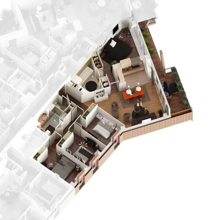 Appartements neufs St Jean référence 4184 : aperçu n°6