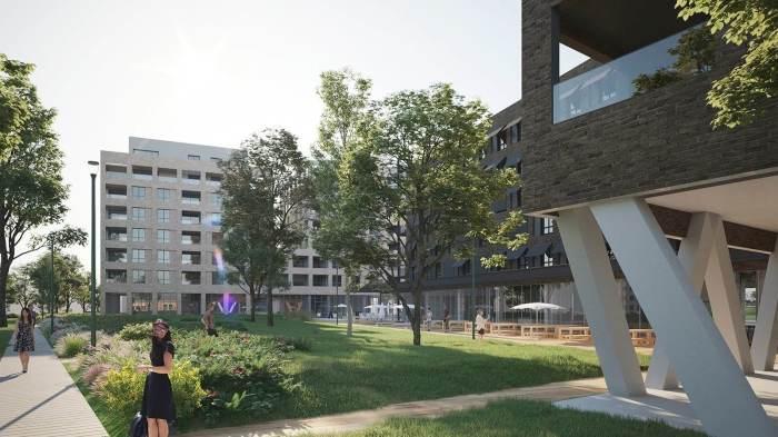 Appartements neufs Les Chartrons référence 4203 : aperçu n°3