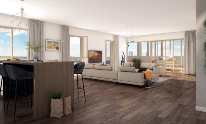 Appartements neufs Bastide référence 4221 : aperçu n°2