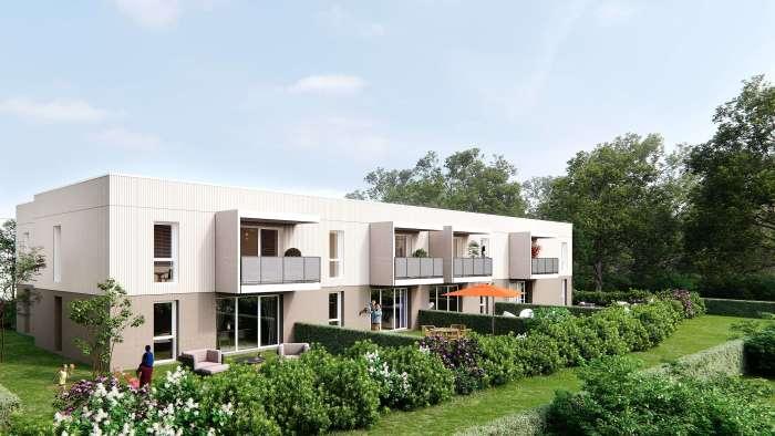 Appartements neufs Saint-Jean-d'Illac référence 4256 : aperçu n°0