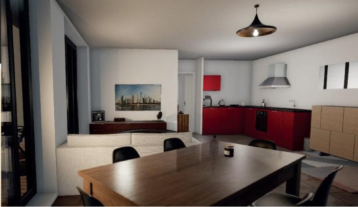 Appartements neufs Talence référence 4293 : aperçu n°2