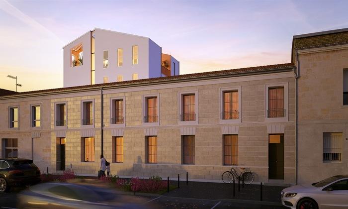 Appartements neufs Les Chartrons référence 4308 : aperçu n°0