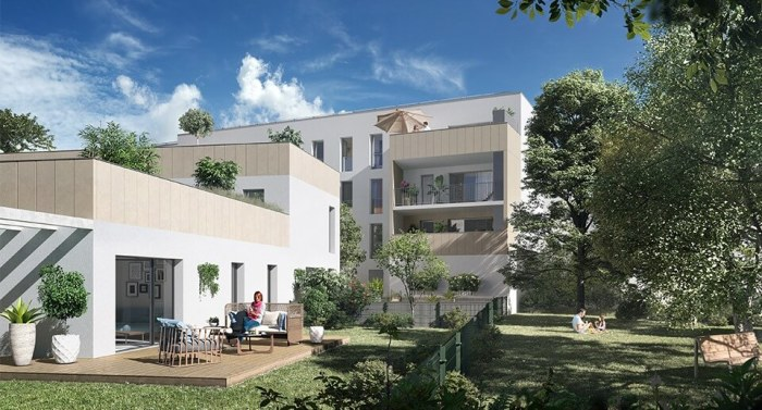 Appartements neufs Les Capucins référence 4312 : aperçu n°3