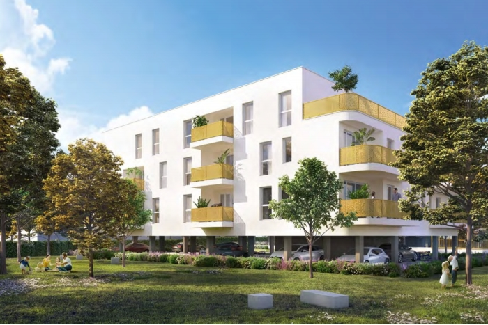 Appartements neufs Lormont référence 4423 : aperçu n°0