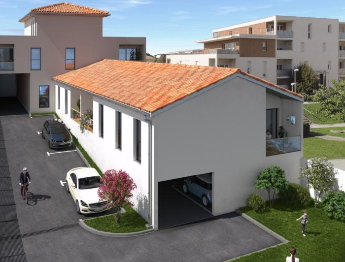 Appartements neufs Le Taillan-Médoc référence 4435 : aperçu n°0
