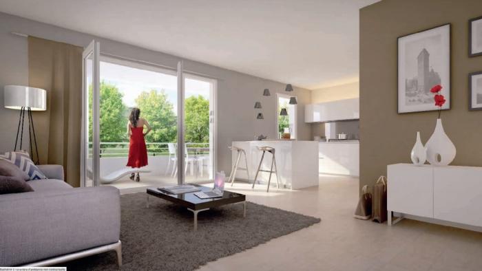 Appartements neufs Gradignan référence 4474 : aperçu n°1