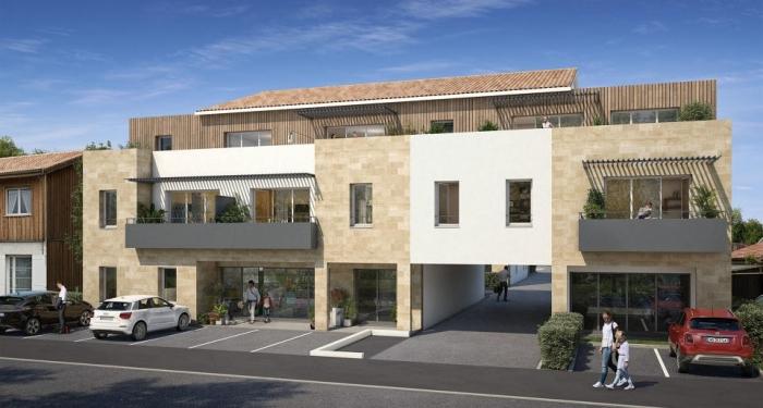 Appartements neufs Carignan-de-Bordeaux référence 4476 : aperçu n°0