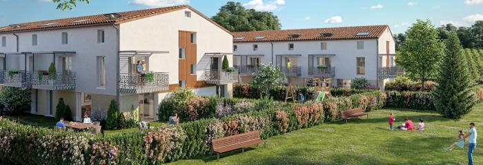 Appartements neufs Montussan référence 4598 : aperçu n°0