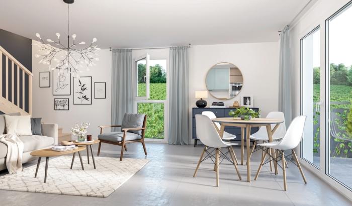 Appartements neufs Montussan référence 4598 : aperçu n°1