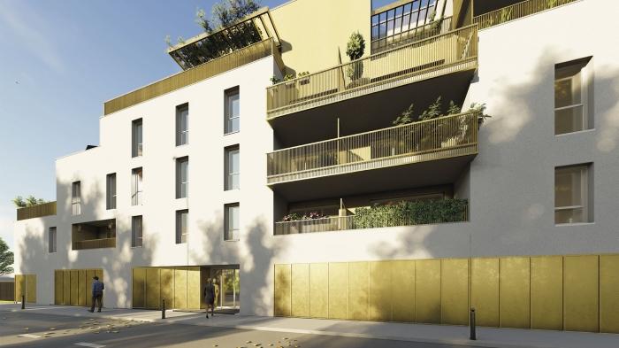 Appartements neufs Villenave-d'Ornon référence 4600 : aperçu n°2
